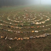 Labyrinth on the Camino de Santiago